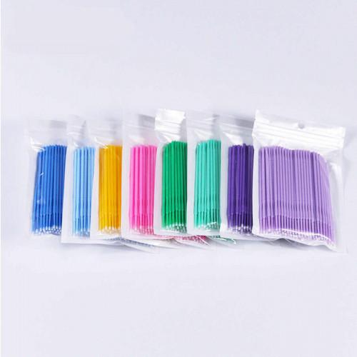 Микробраши (размер M) мягкая упаковка 100 штук.